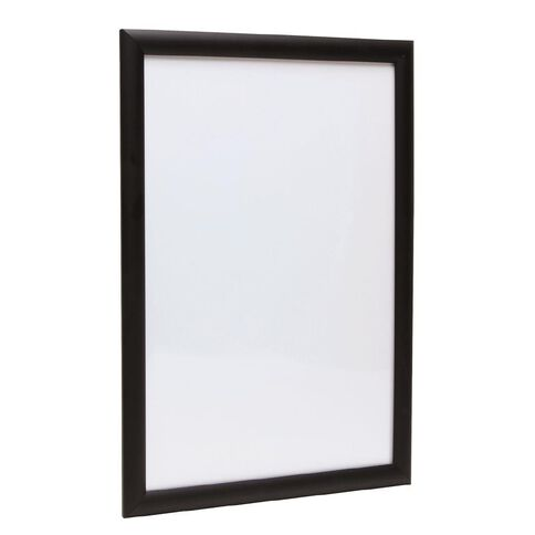 Manhattan Snap Lock Poster Frame Black A1