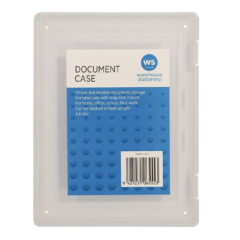 Impact Document Carry Case A4