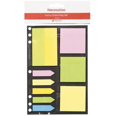 No Brand Sticky Note & Flag Set 10 Piece