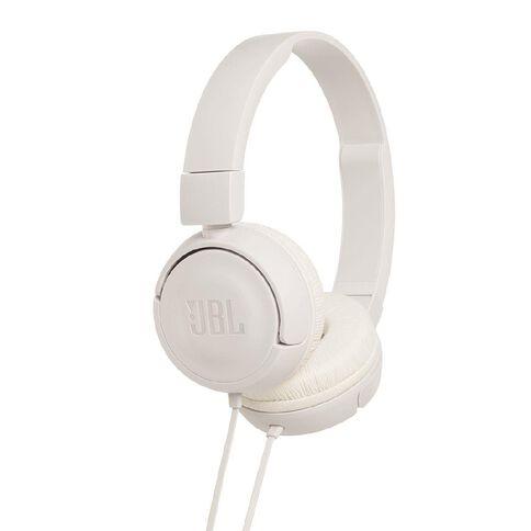JBL T450 Wired Headphones White
