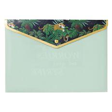 Disney Jungle Book Document Wallet Green A4