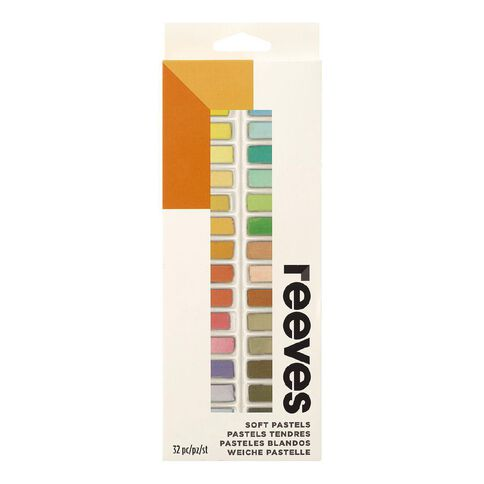 Reeves Soft Pastels Half Size 32 Pack