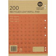WS Recycle 200 Leaf Refill