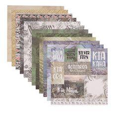Uniti Designer Paper 12x12in 12 Sheets New Zealand