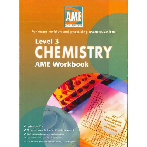 Ncea Year 13 Chemistry Workbook