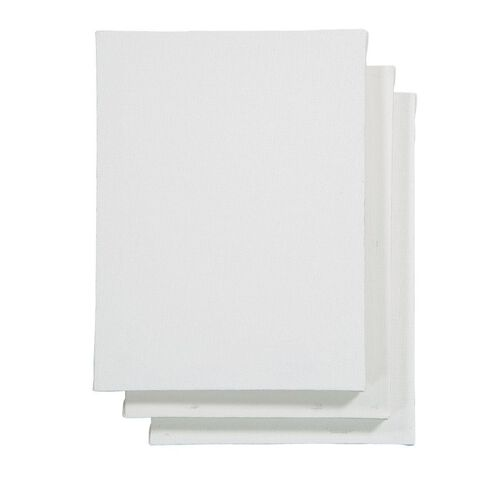 Uniti Blank Canvas 280gsm 8in x 6in 3 Pack
