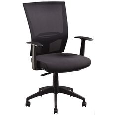 Jasper J Advance Air Plus Black with Adjustable Arms Black
