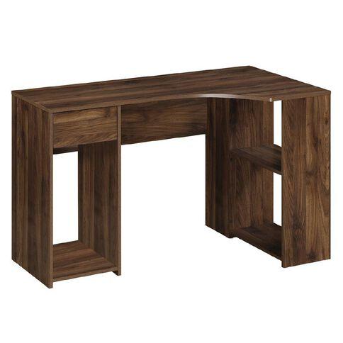 Workspace Soho L-Desk Walnut