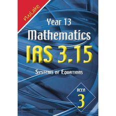 Nulake Year 13 Mathematics Ias 3.15 System Of Equations
