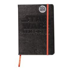 Star Wars Adult PU Notebook Black A5