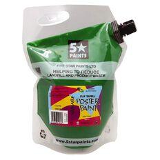 Fivestar Tempera Poster Paint Green 1.5 litre Pouch