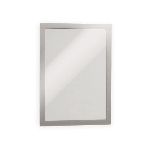 DURAFRAME Self Adhesive Sign 1 Pack Black A4