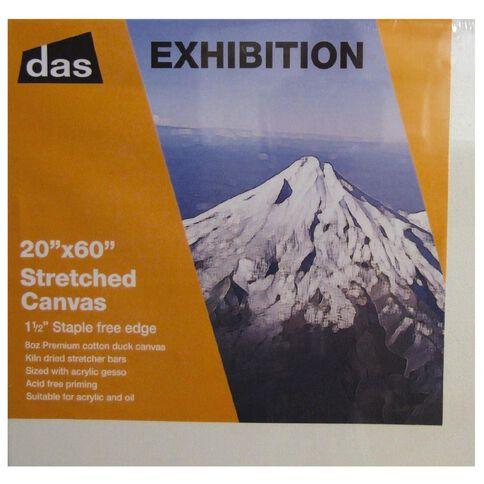 DAS 1.5 Exhibition Canvas 20 x 60in White