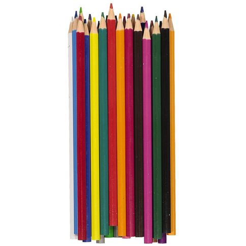 Kookie Coloured Pencils Multi-Coloured 24 Pack
