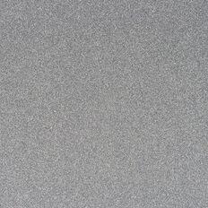 American Crafts Cardstock Glitter Medium 12 x 12 Silver
