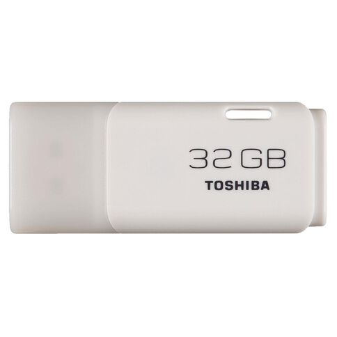 Toshiba 32GB U202 USB Flash Drive White
