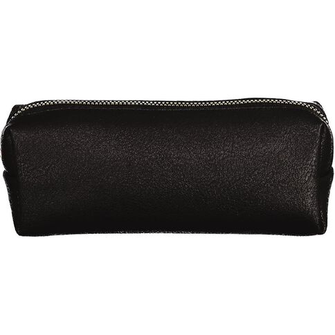 WS Pencil Case Tube Grained Black