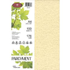 Direct Paper Parchment Paper 100gsm 100 Pack Orion Cream A4