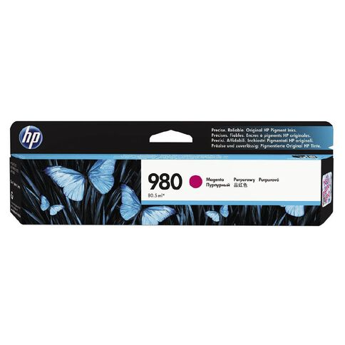 HP 980 Magenta Original Ink Cartridge (6600 Pages)
