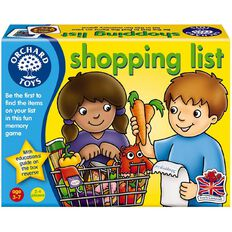 Orchard Toys Game Shopping List Game