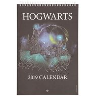 Harry Potter 2019 Calendar Hogwarts 210mm x 310mm