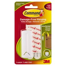 Command Wire-Backed Picture Hanger White