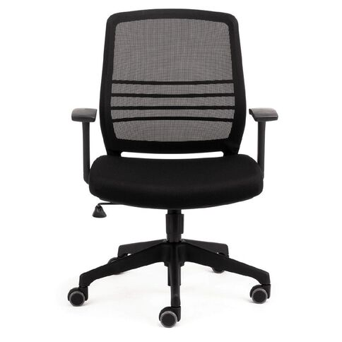 Chair Solutions Cobi Mesh Chair With Arms Black