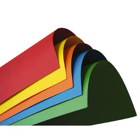 Direct Paper Coloured Card 220gsm 25 Pack Assorted A3