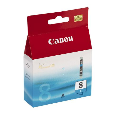 Canon Ink CLI8 Cyan (490 Pages)