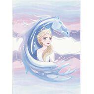 Frozen Disney Scrapbook Elsa Purple Light A3