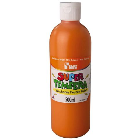 FAS Paint Super Tempera 500ml Orange Orange 500ml