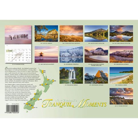 Calendar 2020 Tranquil Moments Booklet