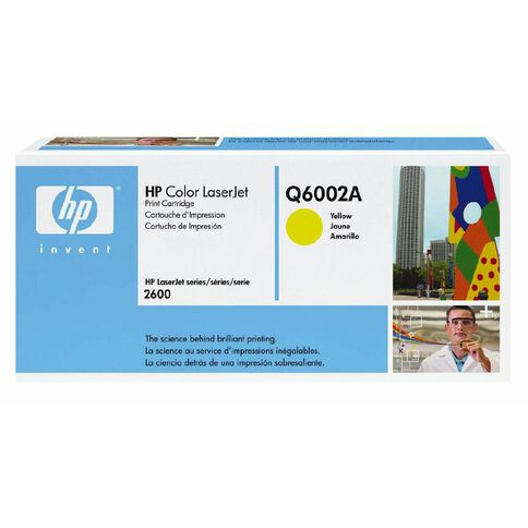 HP Toner 124A Yellow (2000 Pages)