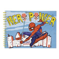 Spider-Man Sketchpad Hero Power A4