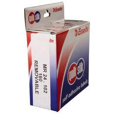 Quik Stik Labels Mr24102 24mm x 102mm 160 Pack White