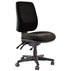 Buro Seating Roma 3 Lever Highback Chair Black