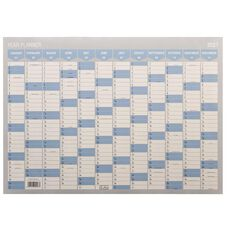 WS 2021 Year Planner 700x500mm Non Laminated