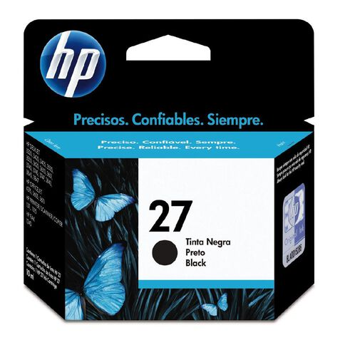 HP Ink 27 Black (280 Pages)