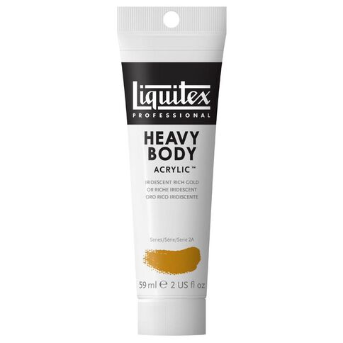 Liquitex Heavy Body Acrylic 59ml Iirid Rich Gold