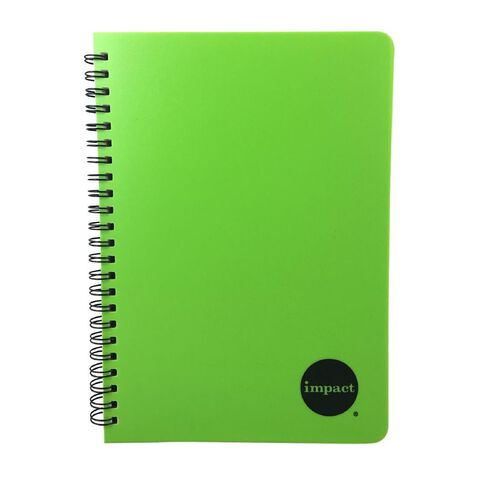 Impact Notebook PP Wiro Green A5