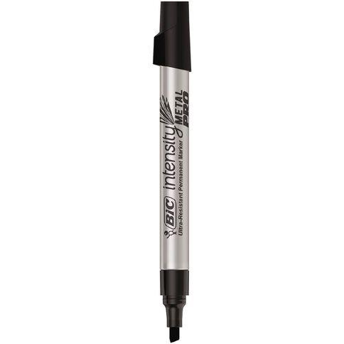 Bic Intensity Metal Pro Permanent Marker Chisel Loose Black