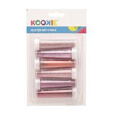 Kookie Glitter Set 6 Pack Pink and Purple