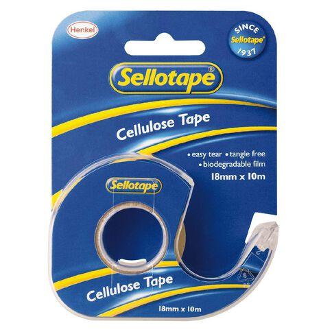 Sellotape Tape Dispenser 18mm x 10m Single Pack Clear