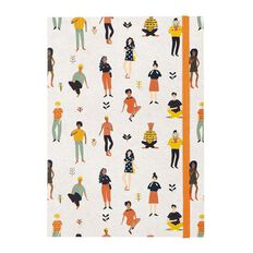 Uniti Empowerment People Softcover Notebook White A5