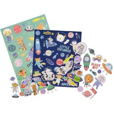 Kookie Sticker Deluxe Pack 5 Sheets To The Moon