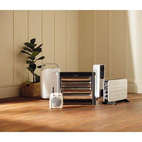 Living & Co Oil Heater 5 Fin Pure White 1000w