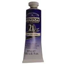 Winsor & Newton Winton Oil Paint 37ml French Ultramarine Blue