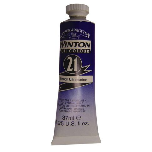 Winsor & Newton Winton Oil Paint 37ml French Ultramarine Blue