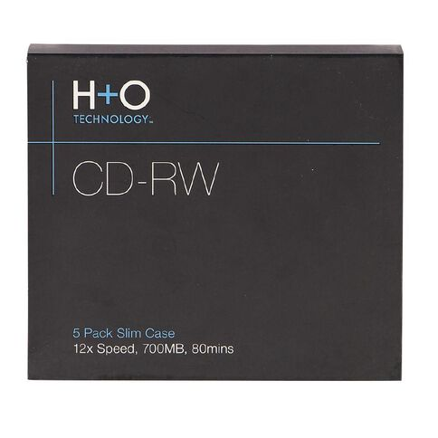H+O Cd-Rw 12X 700 Mb 5-Slim Case