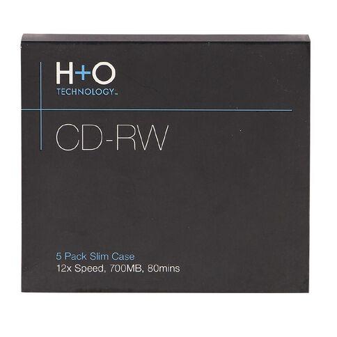 H+O Cd-Rw 12X 700 Mb 5-Slim Case